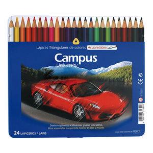CAMPUS LAPICES COLORES CAMPUS ACUAREL. 24COL 0016061 MAK630368