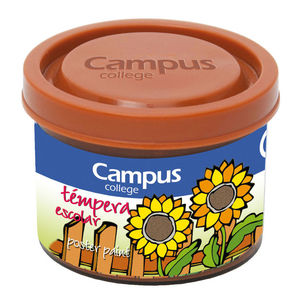 CAMPUS TEMPERA CAMPUS 40ML MARRÓN @@@ G40-5BR MAK630380