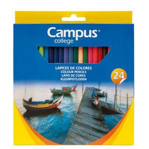 CAMPUS LAPICES COLORES CAMPUS HEXAGON.24COL 24 COLORES MAK630480