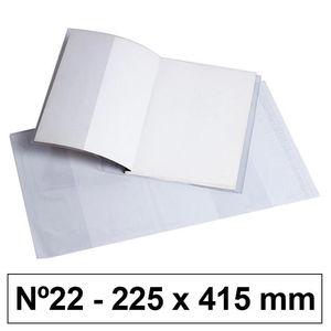 CAMPUS FORRO LIBROS PVC Nº22 120M 222*415/5U BC-225X53 MAK630529