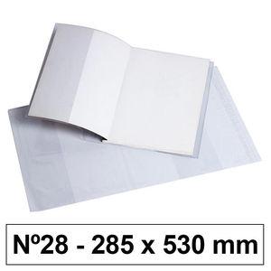 CAMPUS FORRO LIBROS PVC Nº28 120M 285*530/5U BC-285X53 MAK630530