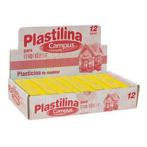 CAMPUS PLASTILINA CAMPUS MEDIANA 200G AMARIL AMARILLA MAK630536