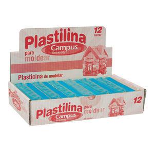 CAMPUS PLASTILINA CAMPUS MEDIANA 200G AZUL C 630537 MAK630537