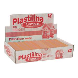 CAMPUS PLASTILINA CAMPUS MEDIANA 200G CARNE 630540 MAK630540
