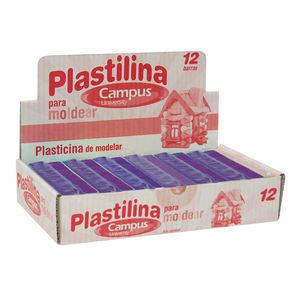 CAMPUS PLASTILINA CAMPUS MEDIANA 200G VIOLET 630541 MAK630541