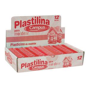 CAMPUS PLASTILINA CAMPUS MEDIANA 200G ROJO 630545 MAK630545