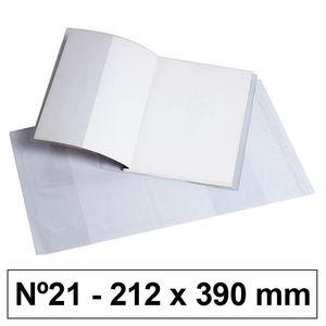 CAMPUS FORRO LIBROS PVC Nº21 120M 212*390/5U BC-212X39 MAK630581