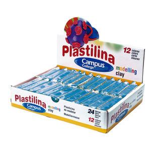 CAMPUS PLASTILINA CAMPUS PEQUEÑA 60G AZUL 630624 MAK630624