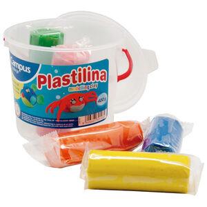 PLASTILINA CAMPUS BOTE 5 BARRAS/80G 630769