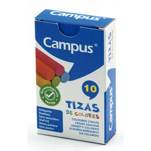TIZAS CAMPUS COLORES /CAJA 10U 630779
