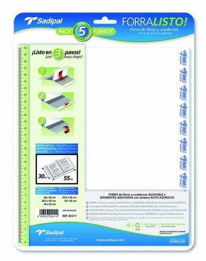 SADIPAL FORRO PLASTICO SADIPAL Nº29 29X50,50 02011/02209 MAK649768