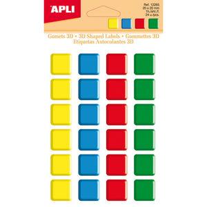 APLI GOMETS APLI AUTOADH.3D CUADRAD 20MM 12265 MAK649784