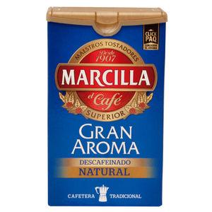 MAKRO PAPER CAFE MARCILLA GRAN AROMA DESCAF. 250G 749215 MAK749215