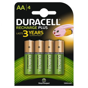 BIC PILAS DURACELL RECARGABLE AA/BL.4UD S0560310 MAK749663