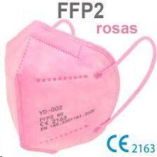 MASCARILLA FFP2 ROSA           749895