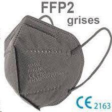 MASCARILLA FFP2 GRIS           749896