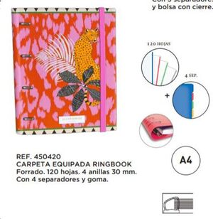 CARPETA A4 4A. 35 MM ACCESSORIZE 835253