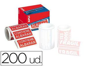 ETIQUETAS ROLLO APLI ALBARAN/200U