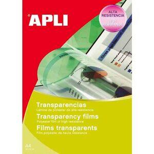 APLI TRANSPARENCIA APLI INKJET-LASER 01062 01062 MAK215256