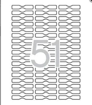 ETIQUETAS A5 45X8 MM JOYERIA