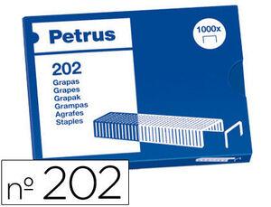 ESSELTE GRAPAS PETRUS N-202 CAJA 1000U 55700 MAK040086