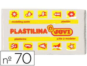 PLASTILINA JOVI PEQUEÑA 50G BLANCA