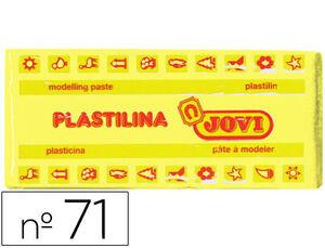 JOVI PLASTILINA JOVI MEDIANA 150G AMARI.CL 7102 MAK630123