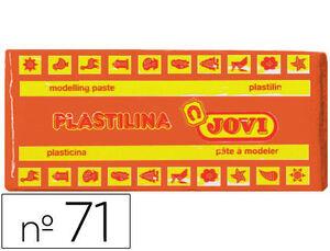 JOVI PLASTILINA JOVI MEDIANA 150G NARANJA 7104 MAK630130