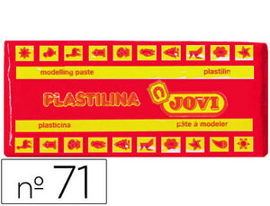 JOVI PLASTILINA JOVI MEDIANA 150G ROJA 7105 MAK630132