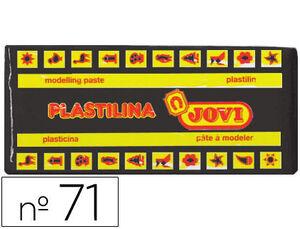 JOVI PLASTILINA JOVI MEDIANA 150G NEGRA 7115 MAK630131