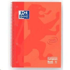 OXFORD BLOC OXFORD A4+ 80H T.EXTD CN5MM CORAL 400075554