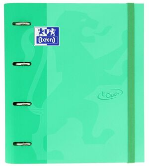 OXFORD CARPETA VERDE MENTA CON RECAMBIO OXFORD 100H CN5MM TOUCH 400136663