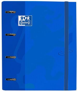 OXFORD CARPETA AZUL DENIN CON RECAMBIO OXFORD 100H CN5MM TOUCH 400136665