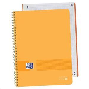 OXFORD BLOC OXFORD A4+ 80H TAPA DE PLASTICO CN5MM MELOCOTON 400149422