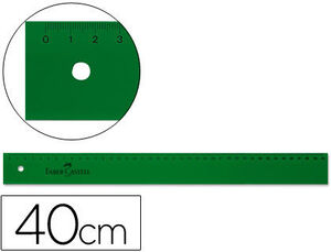 EDDING REGLA FABER PLASTICO 40 CM 90814 40CM MAK600038
