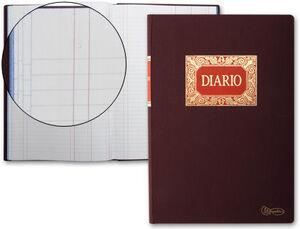 MIQUELRIUS LIBRO DIARIO DOBLE Fº NATURAL 100H 4014/9614 MAK001183