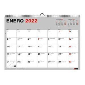 MIQUELRIUS CALENDARIO PARED 2022 A4 BASIC ESCRIBIR MR28091