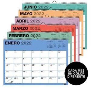 MIQUELRIUS CALENDARIO PARED 2022 A3 CHROMAT MR28102