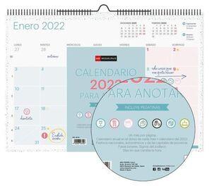 MIQUELRIUS CALENDARIO PARED 2022 A3 LOVELY MR28702