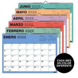 MIQUELRIUS CALENDARIO PARED 2022 A4 CHROMAT MR28708