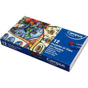 CAMPUS PASTELES AL OLEO CAMPUS 12 COLORES OPL12/B332 MAK600391