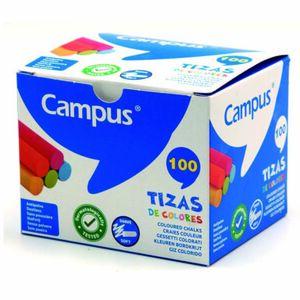 TIZAS CAMPUS COLORES /CAJA 100UD