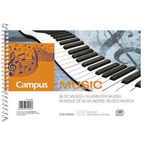 CAMPUS BLOC MUSICA A5 APAIS. PENT.GRANDE 001103 MAK630266