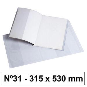 CAMPUS FORRO LIBROS PVC Nº31 120M 315*530/5U BC-315X530 MAK630533