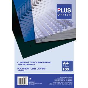 CAMPUS CUBIERTA PLUS PP A4 0,5MM TRANSP/100U ESP425500 MAK220122