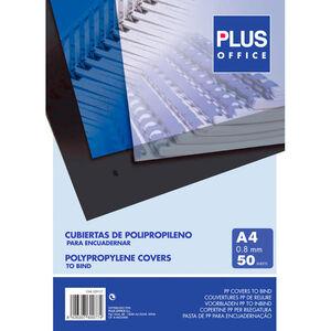 CAMPUS CUBIERTA PLUS PP A4 0,8MM TRANSP/50U ESP425800 MAK220126
