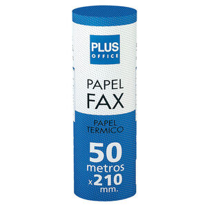 PLUS OFFICE PAPEL FAX PLUS TERMICO 210MMX50MX25 210X50 MAK001053