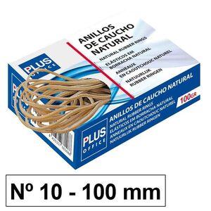CAMPUS ANILLOS CAUCHO N°10 100MM CAJA 100GR 409301 MAK040210