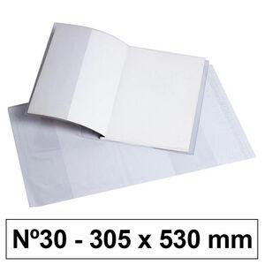 CAMPUS FORRO LIBROS PVC Nº30 120M 305*530 5 UNIDADES BC-305X530 MAK630532
