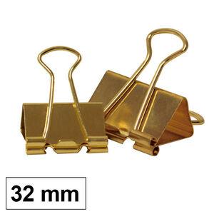 CAMPUS PINZA REVERSIBLE MK 30MM DORADA /12UD LL8032-GD MAK040630